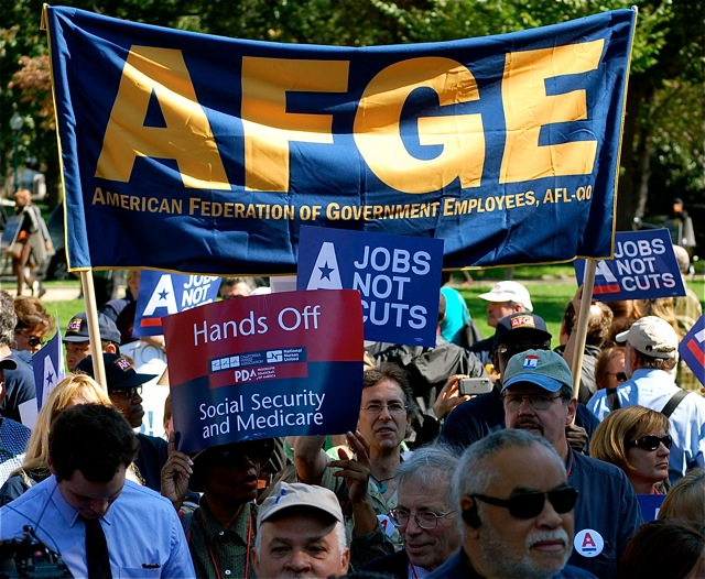 STATEMENT FROM AFGE NATIONAL PRESIDENT JOHN GAGE ON OCCUPY